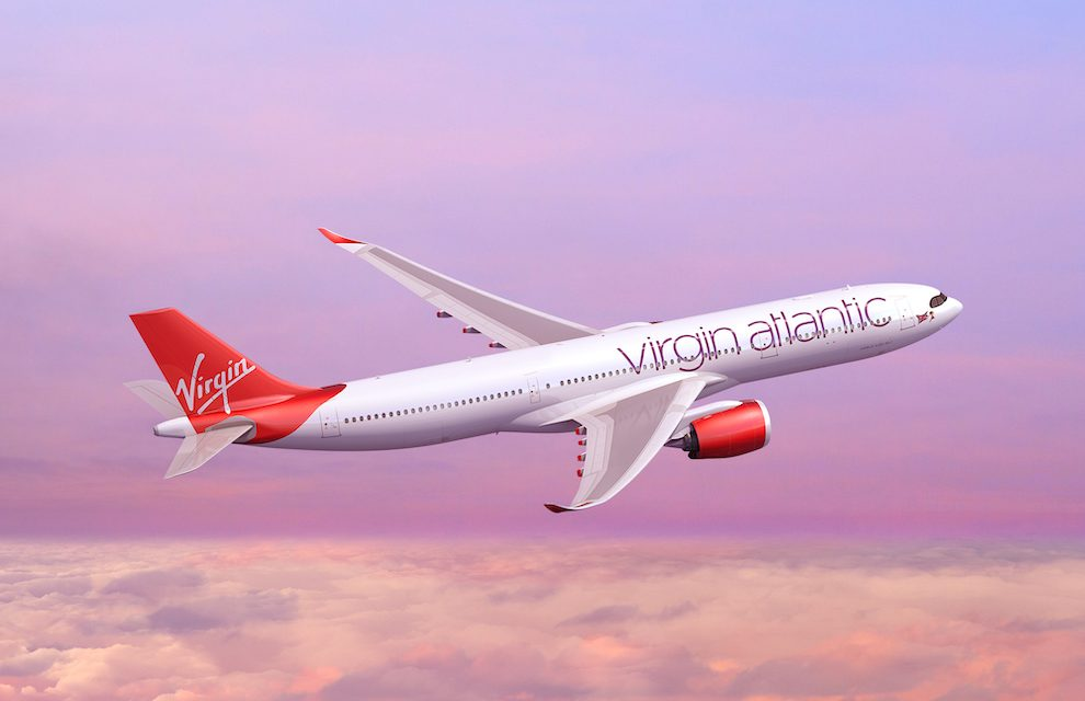 VIRGIN ATLANTIC's NEXT GENERATION AIRBUS A350 IS NOW ON SALE